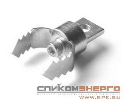 Прочистная насадка SPEX. Скребок зубчатый вильчатый 30мм СЗВ-30